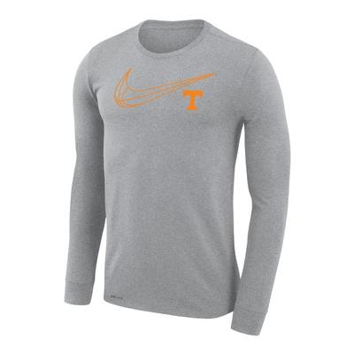 Tennessee Nike Dri-Fit Legend Long Sleeve Basketball Tee