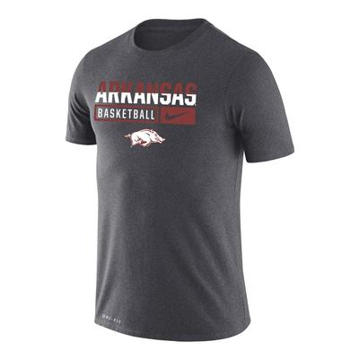Arkansas Nike Dri-Fit Legend Short Sleeve Basketball Tee