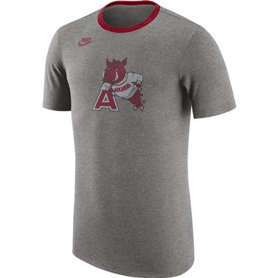 Arkansas Nike Vault Tri-Blend Retro Tee