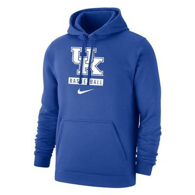 Kentucky Nike Club Fleece Basketball Hoody