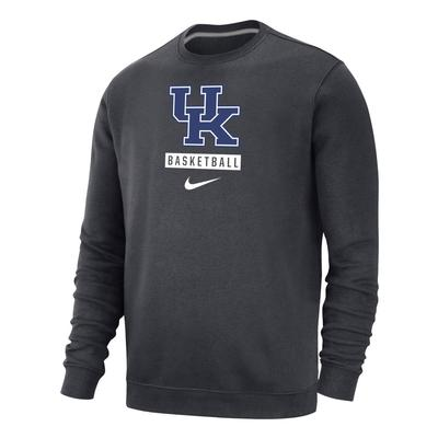 Kentucky Nike Club Fleece Basketball Crew