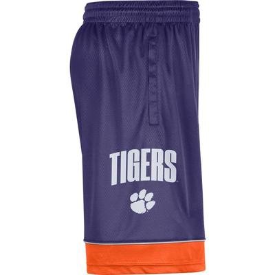 Clemson Nike Men's Fast Break Shorts