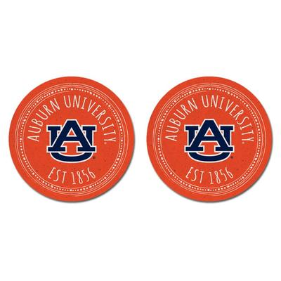 Auburn Legacy 2pk Southern Pastime Car Coasters