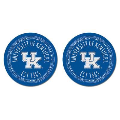 Kentucky Legacy 2pk Southern Pastime Car Coasters