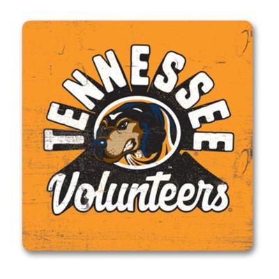 Tennessee Legacy Retro Wood Magnet
