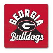 Georgia Legacy Retro Wood Magnet