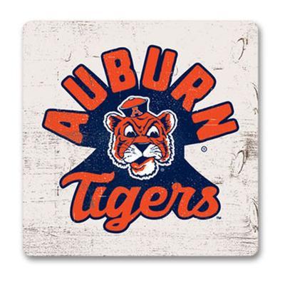 Auburn Legacy Retro Wood Magnet