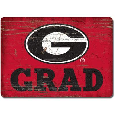 Georgia Legacy Rectangle Wood Magnet