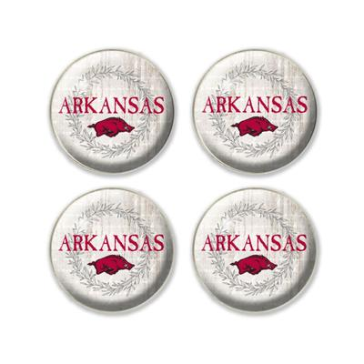 Arkansas Legacy 4 pk Fridge Magnets