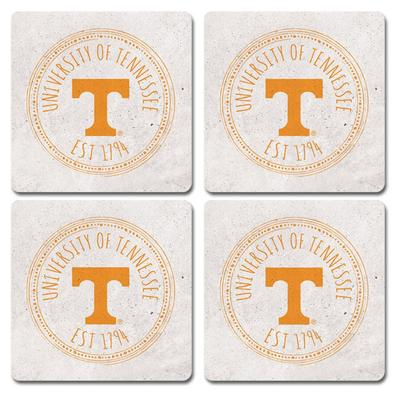 Tennessee Legacy 4 pk Coasters