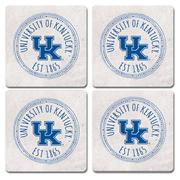Kentucky Legacy 4 Pk Coasters