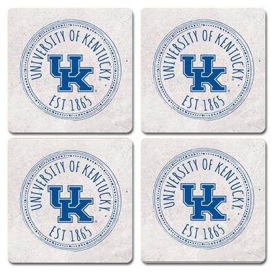 Kentucky Legacy 4 pk Coasters