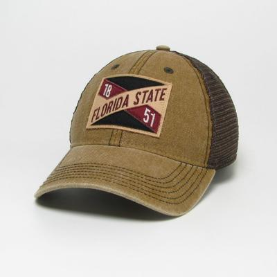 Florida State Legacy Frayed X Patch Hat