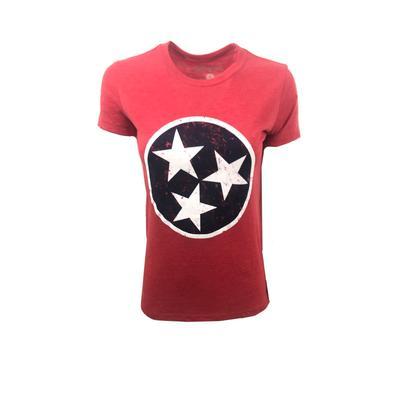 Tennessee Threads Women's Tristar Short Sleeve Tee