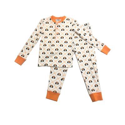 Ishtex Toddler Dog Long Sleeve Pajama Set