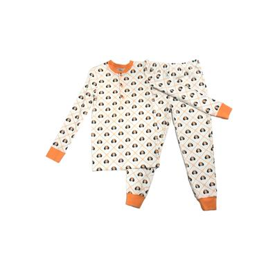 Ishtex Kids Dog Long Sleeve Pajama Set