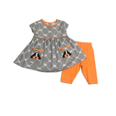 Ishtex Toddler Short Sleeve Tee and Capri Set