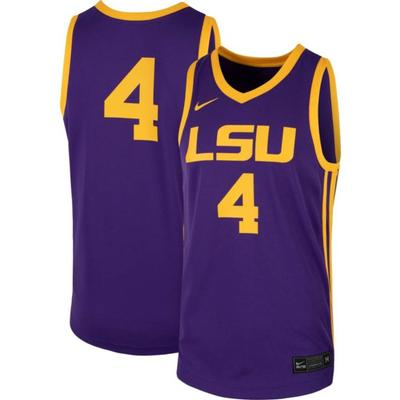 LSU Nike Replica Basketball Jersey