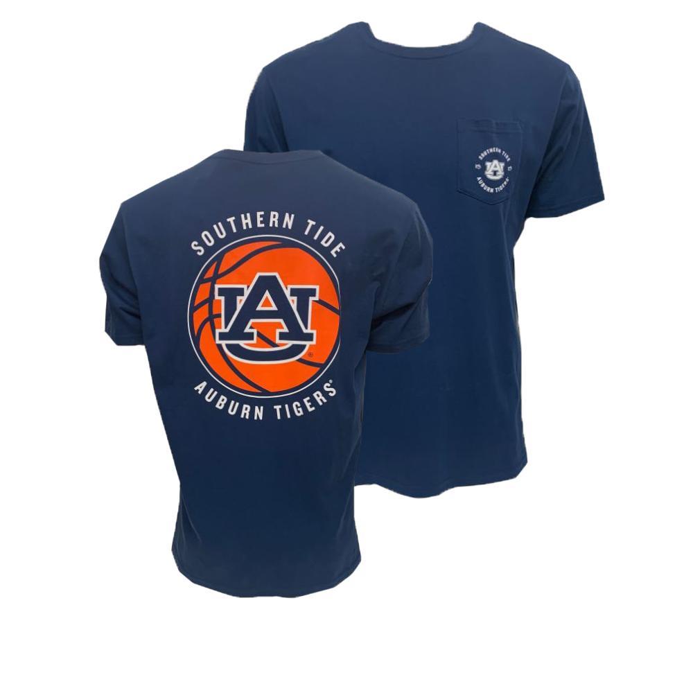 Auburn Southern Tide Men's Basketball Pocket Tee