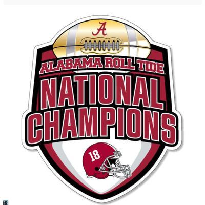 Alabama 2020 National Champions 6