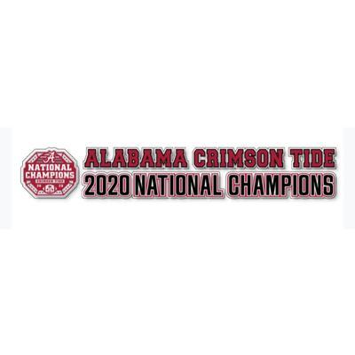Alabama 2020 National Champions 20