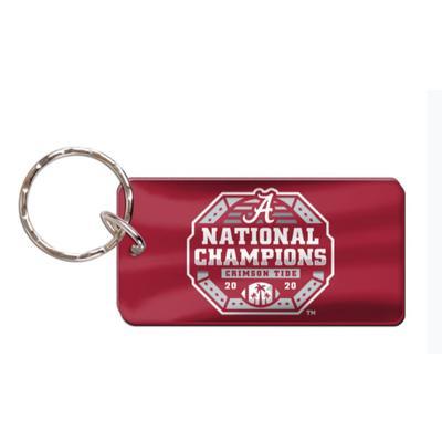 Alabama 2020 National Champions Key Ring