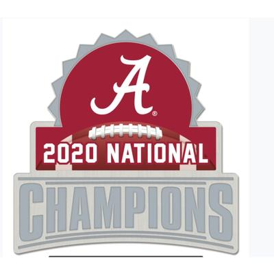 Alabama 2020 National Champions Collector's Pin