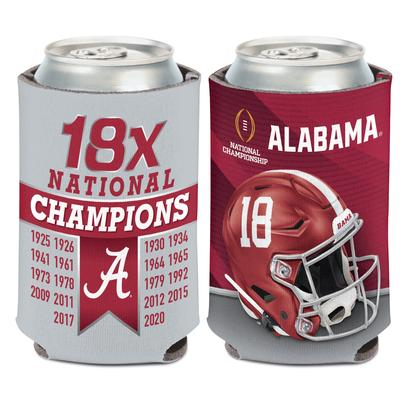 Alabama 2020 National Champions Can Cooler
