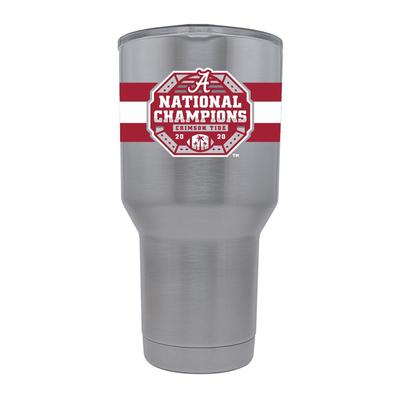 Alabama GTL 2020 National Champions Stainless Steel 30 oz Tumbler