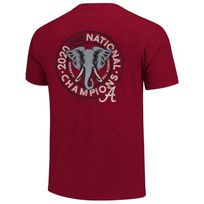 Alabama 2020 National Champions Youth Elephant Circle Tee