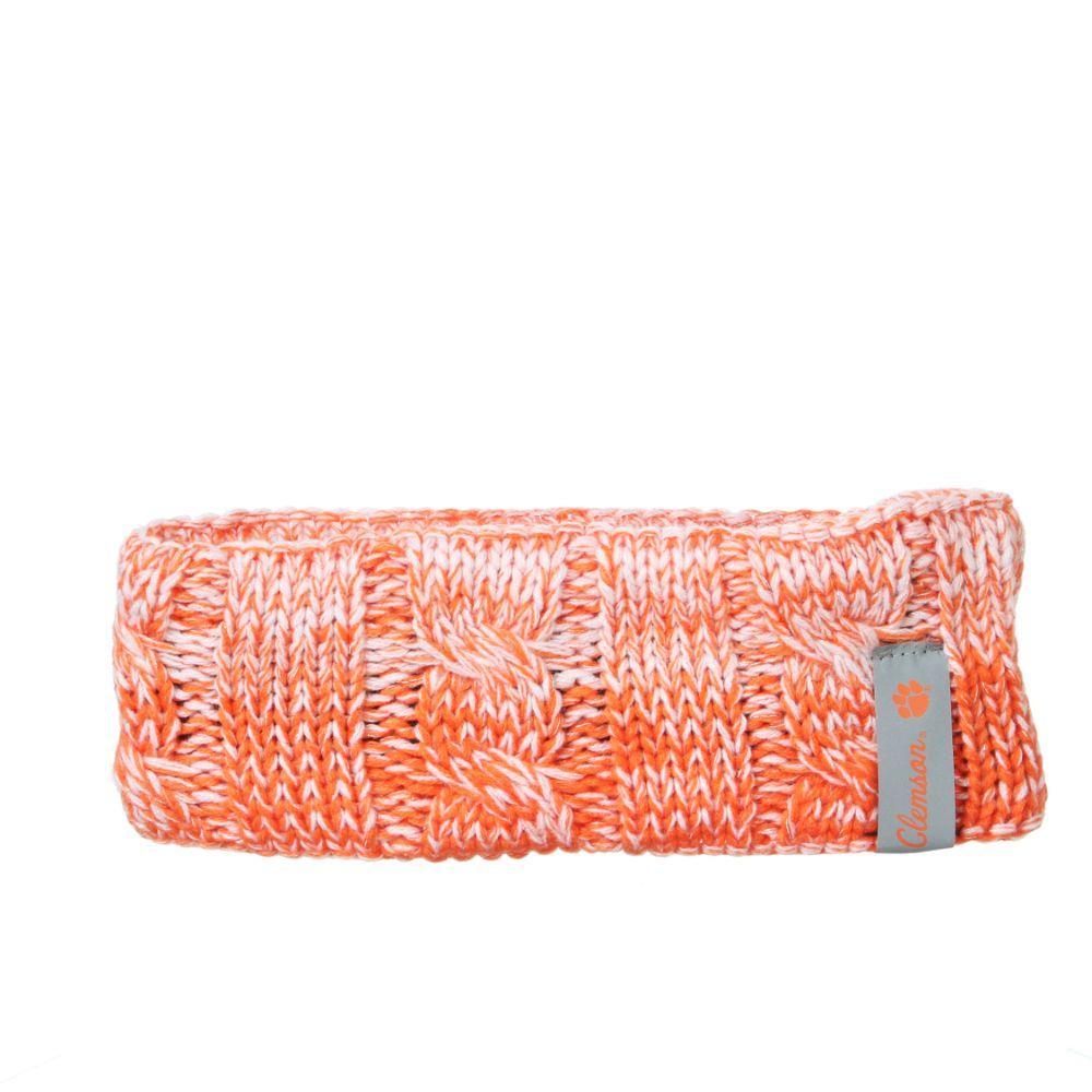 Clemson Zephyr Ombre Knit Headband
