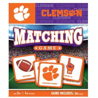 Clemson Matching Game
