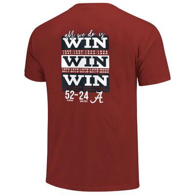 Alabama 2020 National Championship Women's Comfort Colors Tee Shirt