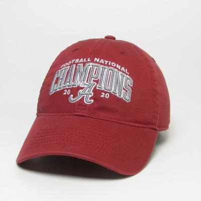 Alabama 2020 National Champions Twill Adjustable Hat