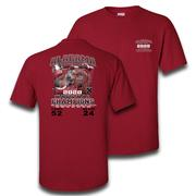 Alabama 2020 National Champions 18 Time Champs Score Short Sleeve Tee