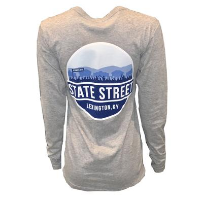 Kentucky Uscape Scenic State Circle Long Sleeve Tee