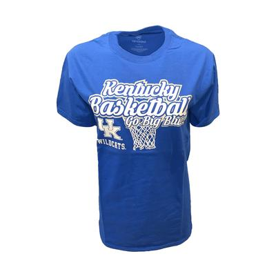 Kentucky Basketball Go Big Blue Tee
