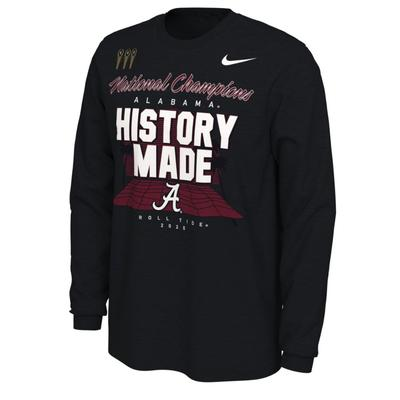 Alabama 2020 National Champions Locker Room Long Sleeve Tee