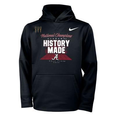 Alabama 2020 National Champions YOUTH Nike Locker Room Hoody