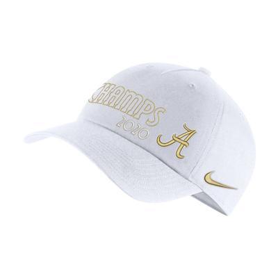 Alabama 2020 National Champions Nike L91 Adjustable Hat