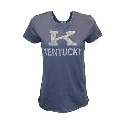 Kentucky Vintage Women's Block K Letter Crew Tee
