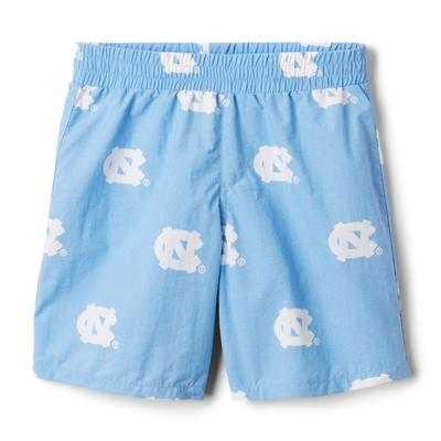 UNC Columbia YOUTH Backcast Swim Shorts