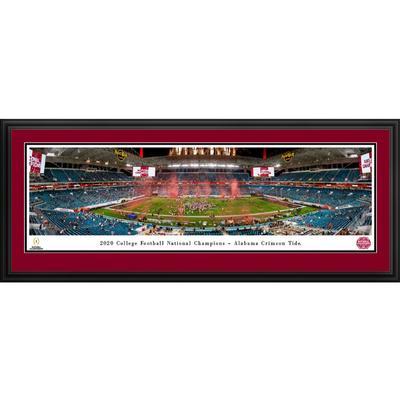 Alabama 2020 National Champions Panoramic 18