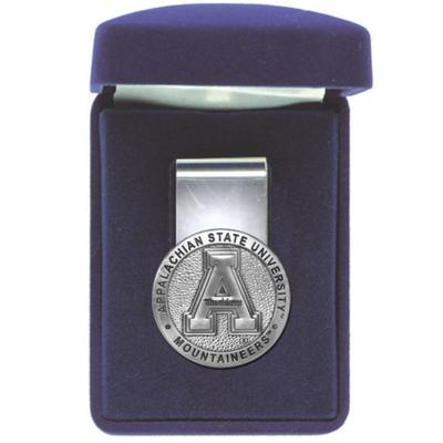 Appalachian State Heritage Pewter Money Clip
