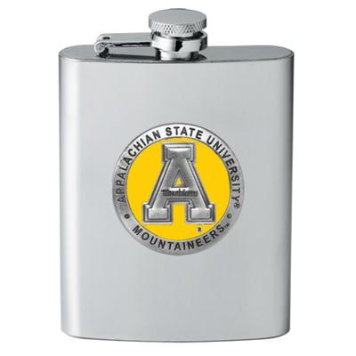 Appalachian State Heritage Pewter Flask