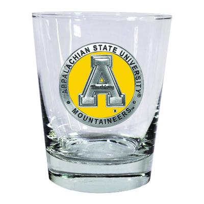 Appalachian State Heritage Pewter Old Fashioned Rock Glass