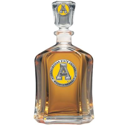 Appalachian State Heritage Pewter Capitol Decanter