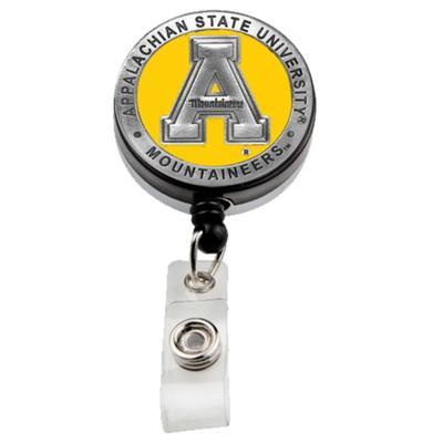Appalachian State Heritage Pewter Badge Reel