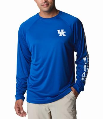 Kentucky Columbia Men's Terminal Tackle Long Sleeve Shirt