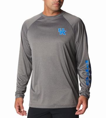 Kentucky Columbia Men's Terminal Tackle Long Sleeve Shirt
